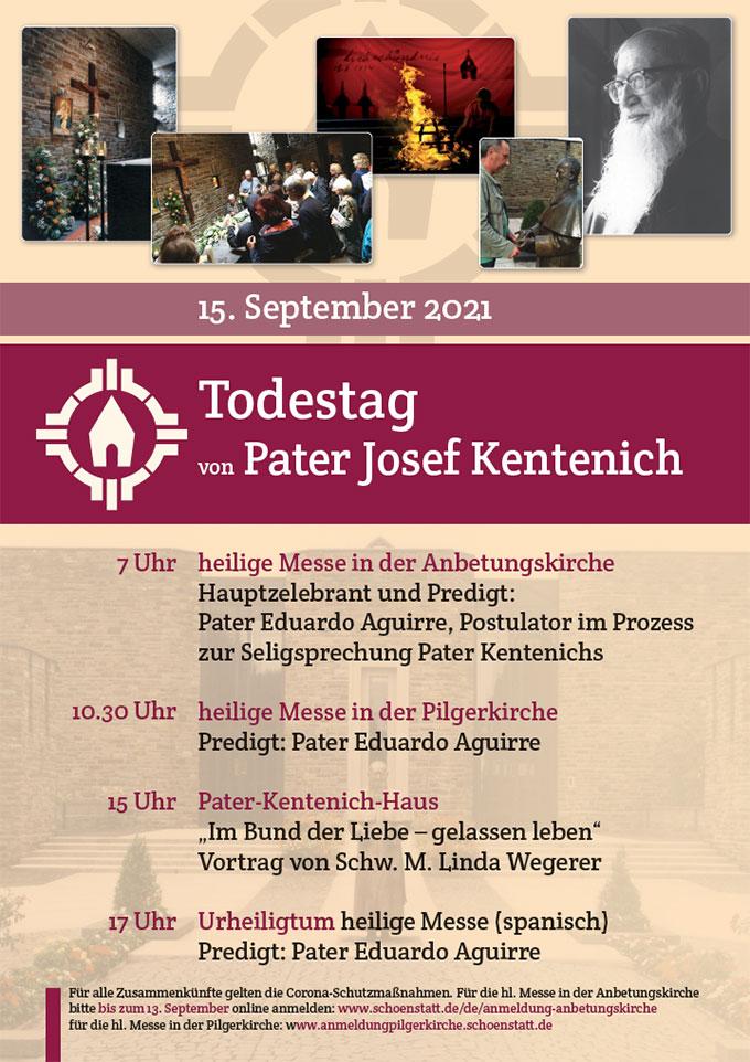 Plakat zum 15. September 2021 (Grafik: Sekretariat PJK)