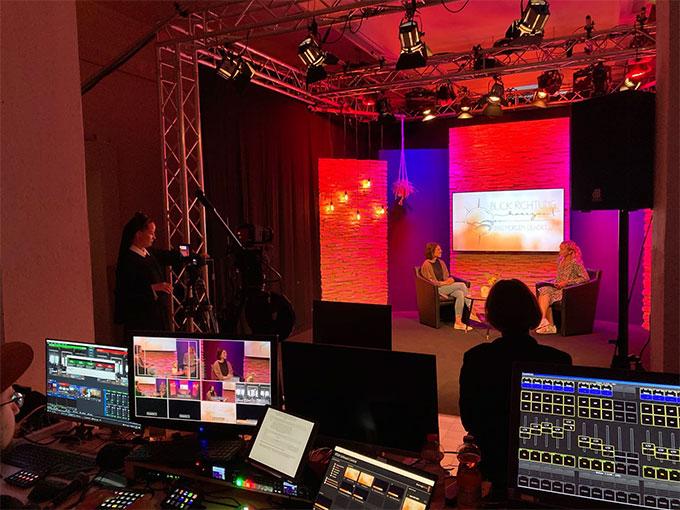 Der Mottotalk wurde aus dem NdH-Studio in Schönstatt, Vallendar, live ins Internet gestreamt (Foto: NdH)