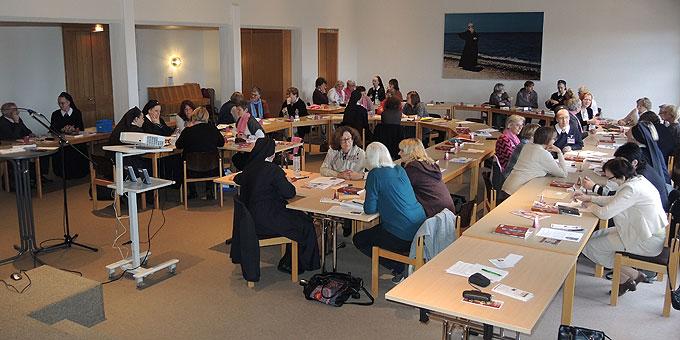 Jahreskonferenz SFM: Das Gehörte auf den Punkt bringen ist wiederholter Arbeitsauftrag an die Kleingruppen (Foto: SAL)