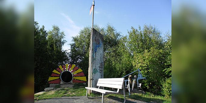 """""""Mahnmal für den Frieden"""" auf dem Gelände des Schönstatt-Zentrums Marienberg, Scheßlitz, Erzbistum Bamberg (Foto: Siebenkäs)"""