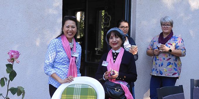 Das Zusammensein von Frauen verschiedener Nationen ist reizvoll und bereichernd (Foto: Deichmann)