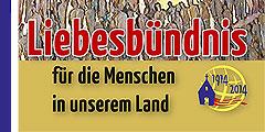 Liebesbündnis für die Menschen in unserem Land (Gestaltung: Brehm)