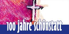 Plakat: 100 Jahre Schönstatt (Foto: Brehm)