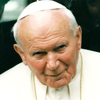 Hl. Johannes Paul II. (Foto: krakow2016.com)