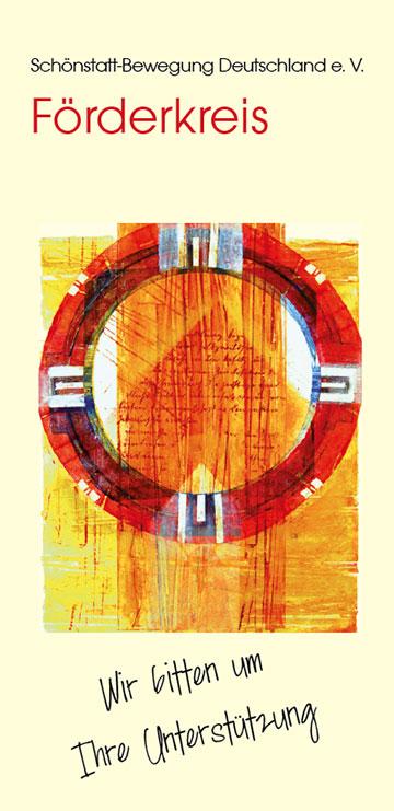 Förderkreis (Flyer-Cover) (Grafik: Kiess)
