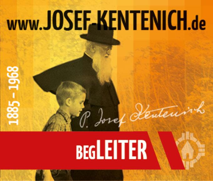 Pater Josef Kentenich - BegLEITER (Foto: Neuenhofer, Gestaltung: POS Brehm)