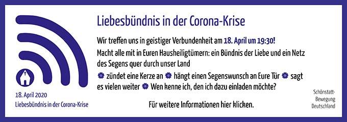 Liebesbündnis in der Corona-Krise